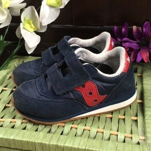 Saucony Boys Toddler Velcro Sneakers Size 10M